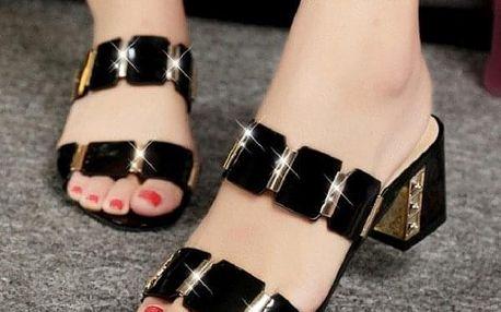 Dámské boty na podpatku Elettra
