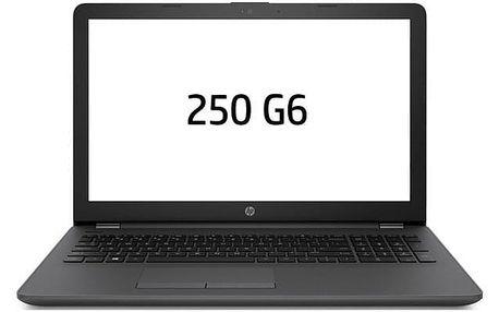 Notebook HP 250 G6 černý (3VJ19EA#BCM)