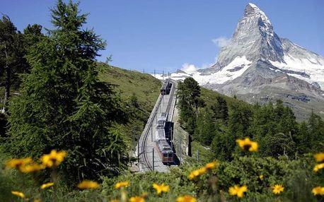 Švýcarsko - Švýcarské Alpy autobusem na 6 dnů, polopenze