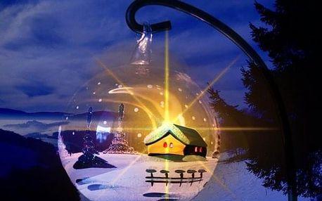 Vánoce pod hvězdnou oblohou na Dvorské boudě v Krkonoších - vánoční menu a 1 hodina sauny v ceně