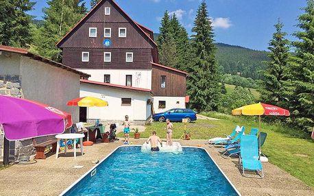 Krkonoše: Léto v Dolních Mísečkách v hotelu s bazénem a polopenzí