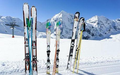 Vysoké Tatry 700 m od skiareálu v Penziónu Encián s polopenzí a wellness