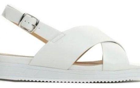 Dámské bílé sandály Lorraine 1496