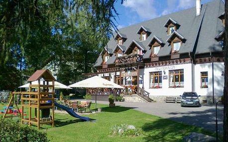Vysoké Tatry v rodinném Penziónu Encián s polopenzí a vstupem do wellness