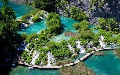 Chorvatsko - Plitvická jezera autobusem na 3 dny