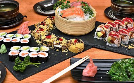 Degustační sushi set se salátem i polévkou pro dva