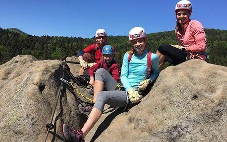 Kurz lezení via ferrat bezpečně