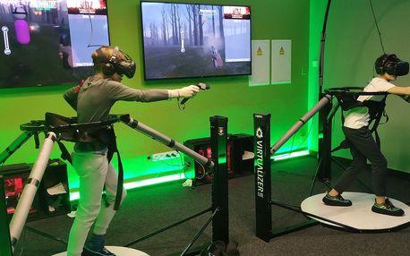 20–30 min. virtuální reality i plošina na pohyb