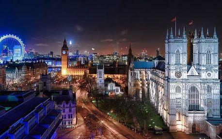 Londýn a Oxford letecky (ubytování u Oxford Street), Anglie