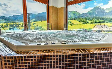 Belianské Tatry ve stylovém horském penzionu s wellness neomezeně a polopenzí – od září 2019