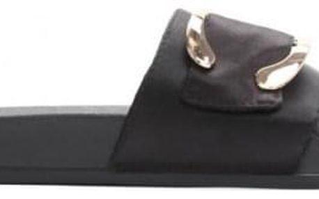 Dámské černé pantofle Lexi 10761D