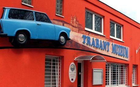 Retro zážitek pro všechny v muzeu Trabantů