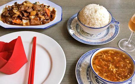 Asijské menu: závitky i kung-pao pro 1–4 osoby