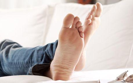 Luxusní spa pedikúra pro muže