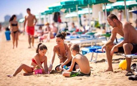 Itálie v bungalowech Albatros Los Nidos pro 4 osoby s bazény a aktivitami