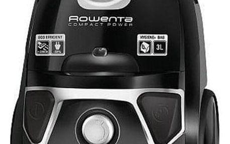 Vysavač podlahový Rowenta Compact Power RO3985EA černý