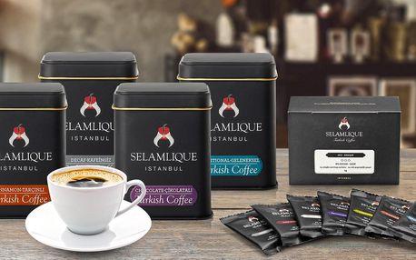 Turecká káva: tmavá i tradiční nebo v příchutích