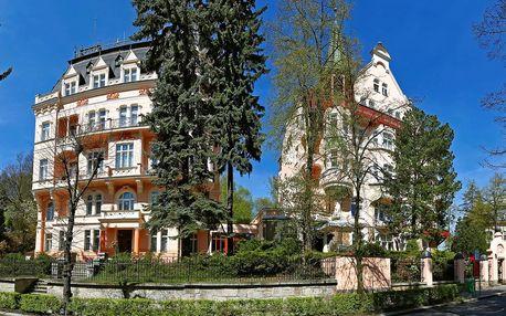 Karlovy Vary: polopenze, bazén i wellness