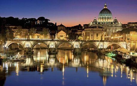 Itálie - Řím letecky na 4-5 dnů, snídaně v ceně
