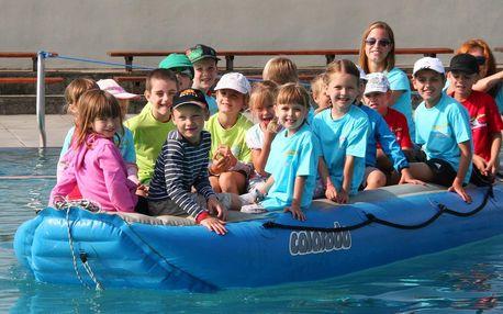 Příměstský plavecký tábor v anglickém i českém jazyce