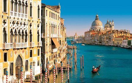 Itálie - Benátky autobusem na 4 dny