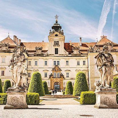 Jižní Morava v penzionu u zámku Valtice se snídaní a vínem