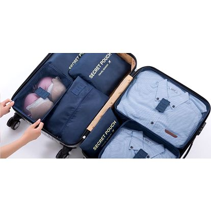 Sedm cestovních organizérů do každého kufru