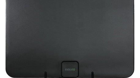 Anténa pokojová Evolveo Xany 2A LTE 230/5V, 45dBi aktivní pokojová anténa DVB-T/T2, LTE filtr (tdexany2a)