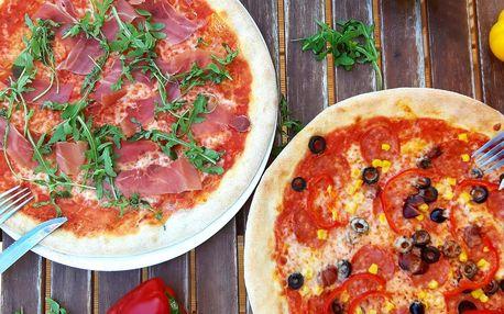 2× pizza dle výběru: 49 druhů včetně vege variant