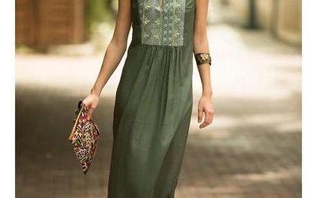 Dlouhé dámské šaty Cokie