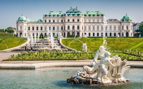 Pobyt ve Vídni se snídaní a půjčením kol
