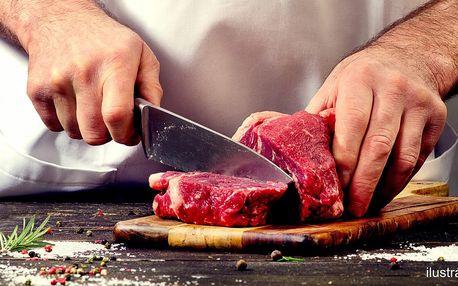 Kurz s Janem Rimplerem: příprava minutkového masa