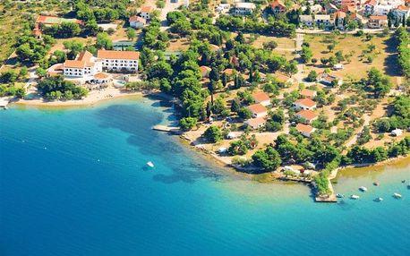 Chorvatsko, Severní Dalmácie, vlastní dopravou na 8 dní polopenze