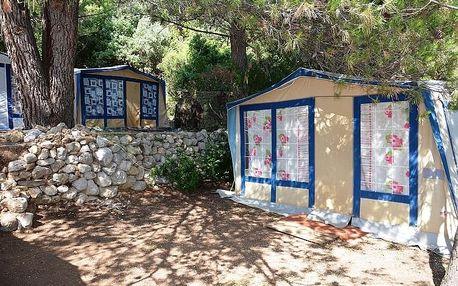 Chorvatsko, Makarská riviera: 8 dní pro 1 os. ve vybavených karavanech