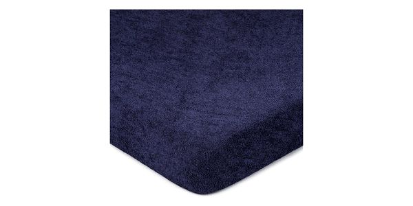 4Home Froté prostěradlo tmavě modrá, 160 x 200 cm