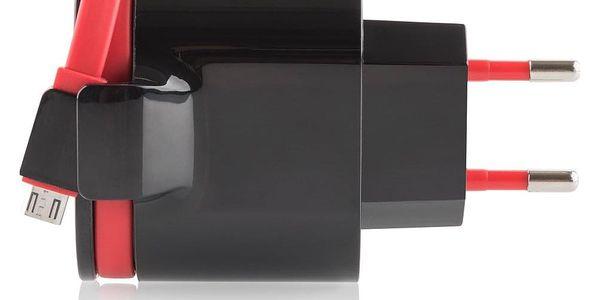 Nabíječka do sítě GoGEN ACH202C, 2xUSB, 2,4A, integrovaný Micro USB kabel (ACH202C)4