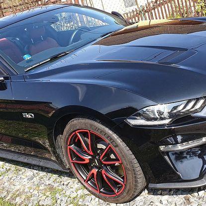 Zapůjčení Fordu Mustang GT 2018 na 24 hod.
