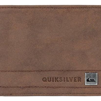 Peněženka Quiksilver Stitchy III chocolate