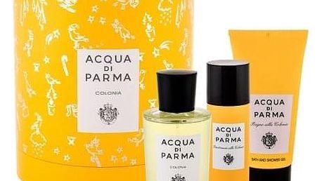 Acqua di Parma Colonia dárková kazeta unisex kolínská voda 100 ml + sprchový gel 75 ml + deodorant 50 ml