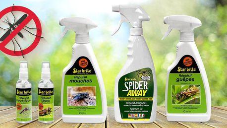 Odpuzovače komárů, ovádů, much, vos i pavouků