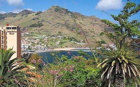 Portugalsko - Madeira letecky na 5-14 dnů, snídaně v ceně
