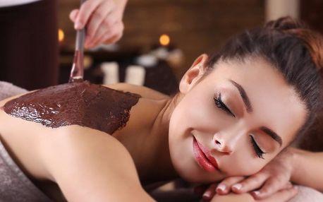 Citrusová, jogurtová nebo čokoládová masáž