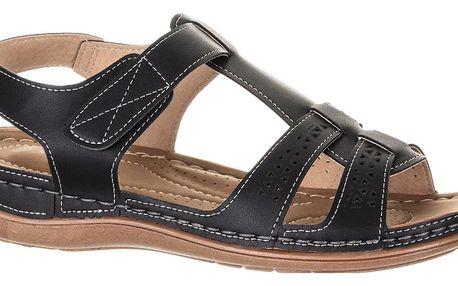 Camo Dámské sandály na suchý zip se zkříženými pásky