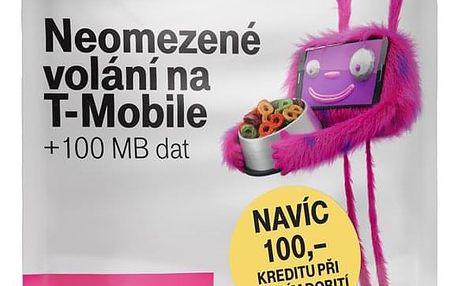 SIM karta T-Mobile SIM s kreditem T-mobile Twist V síti 200 Kč kredit - hlasové volání (719100)