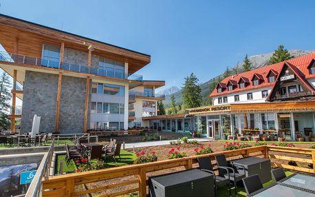 Tatry přes TOP letní sezónu v novém Hrebienok Resortu