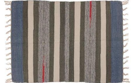Emako Koberec dekorativní, rohožka z bavlny, 60x90 cm
