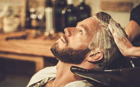 Kompletní barber péče: střih, holení i hydratace
