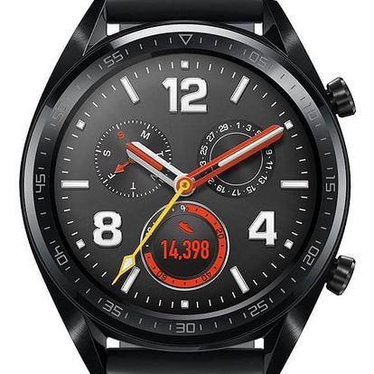 Chytré hodinky Huawei Watch GT Sport černé (55023259)