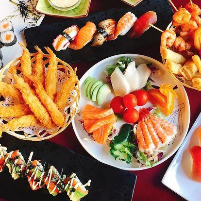 All you can eat: sushi, krevety, saláty i dezerty