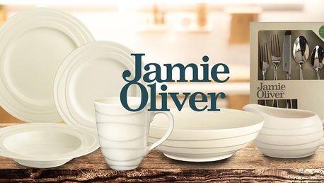 Nádobí, sklenice a příbory od Jamieho Olivera